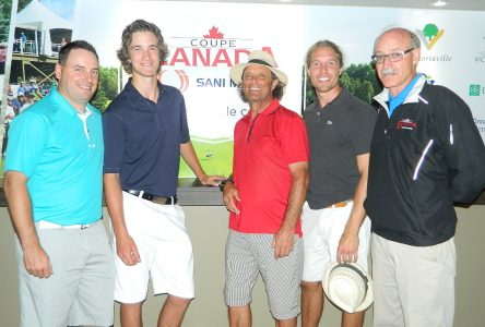 William Gauthier remporte la qualification chez les amateurs