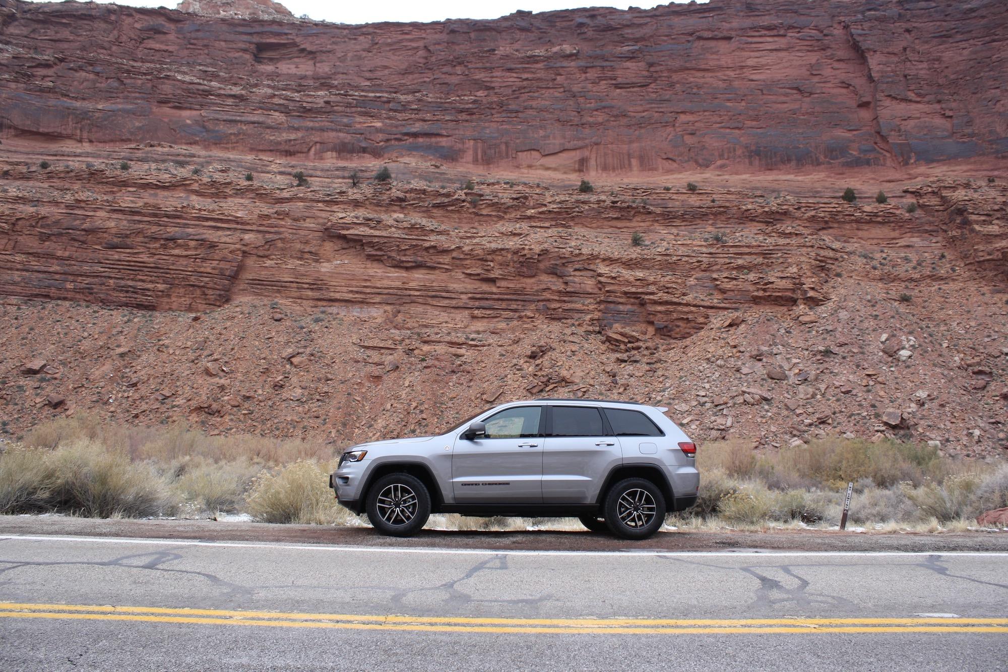 Essayez un Jeep dans son élément naturel