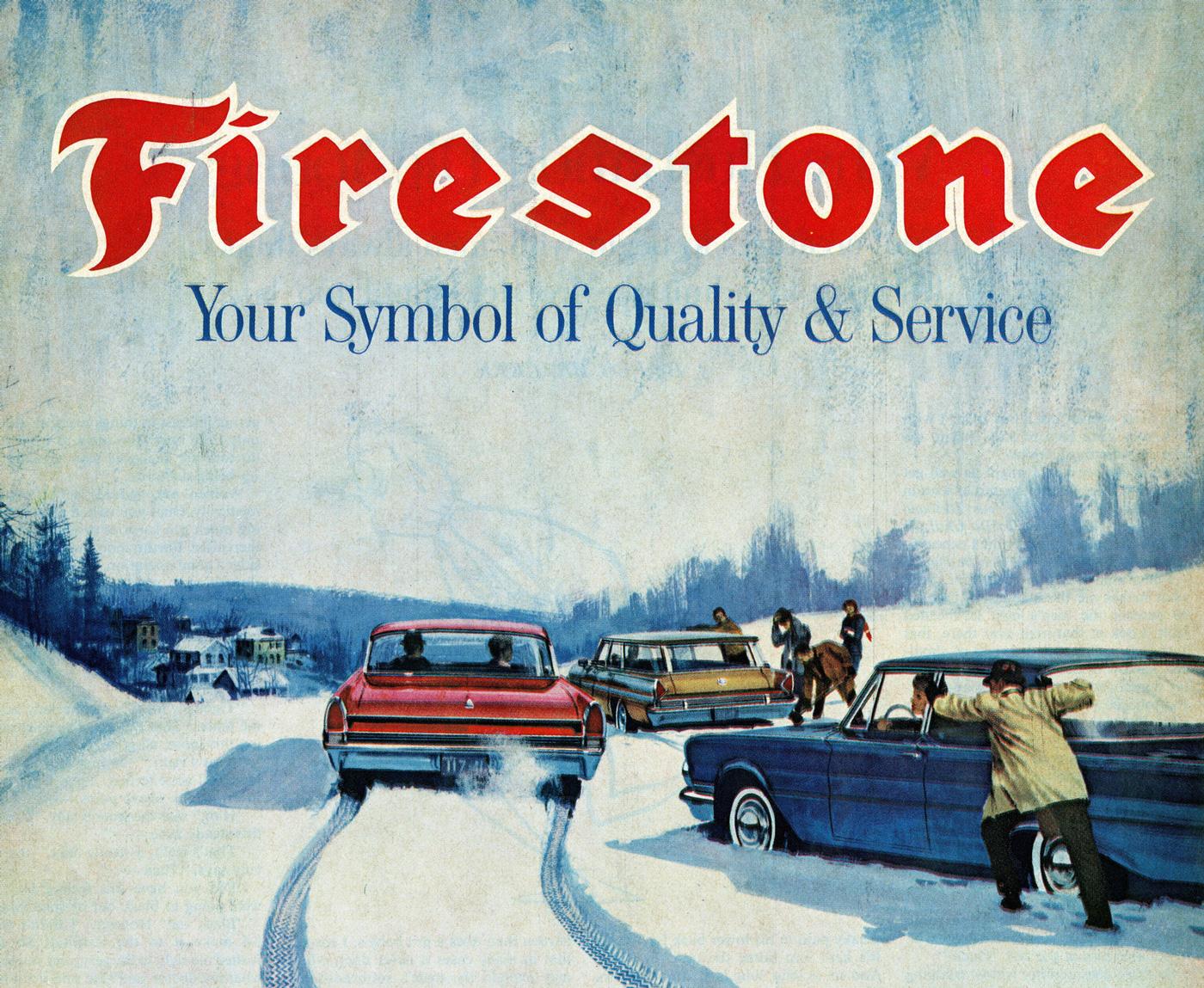 3 août 1900 – Fondation de la Firestone Tire & Rubber Company
