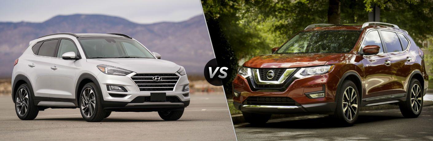 Hyundai Tucson 2019 vs Nissan Rogue 2019
