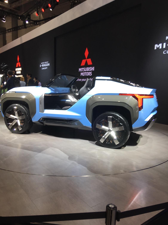 Un VUS décapotable sans porte ni toit chez Mitsubishi