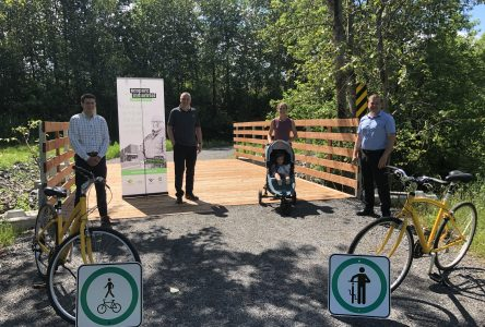 Victoriaville inaugure un lien cyclable