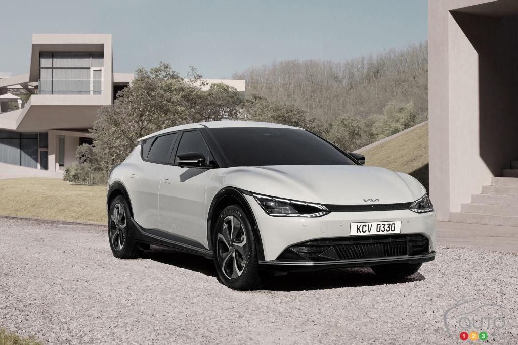 EV6 : Kia dévoile son nouveau modèle électrique