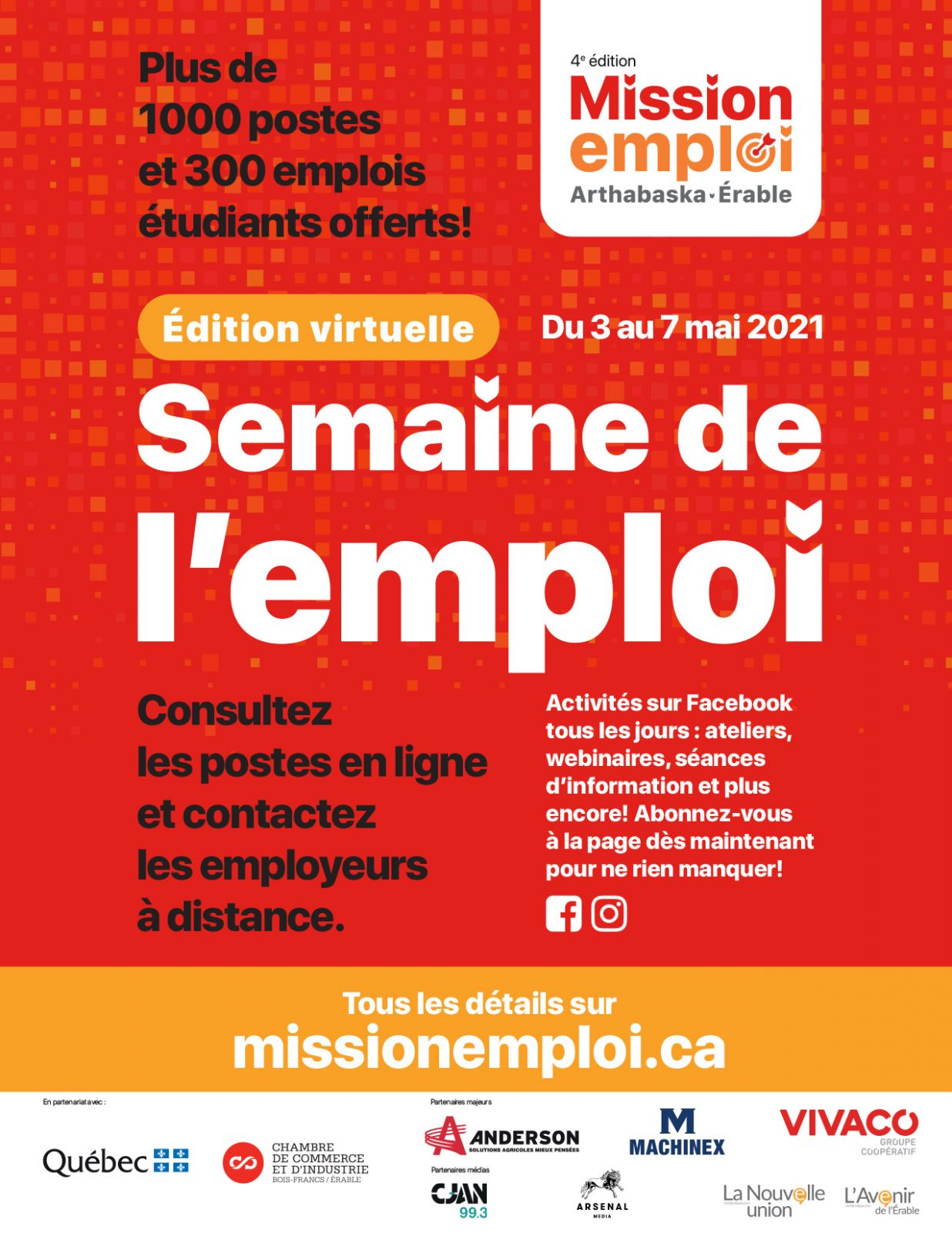 Mission Emploi offert en mode virtuel